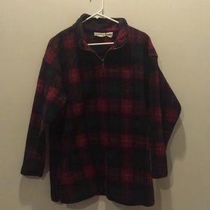 Sweaters - Cozy Plaid Winter Sweater